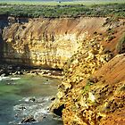 Coastline along Great Ocean Rd. Vic. Australia by EdsMum