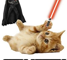 SITH KITTY - STAR WARS by Mrmasterinferno