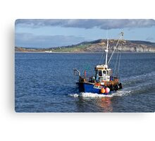 Slippery Dick ~ Lyme Regis Canvas Print