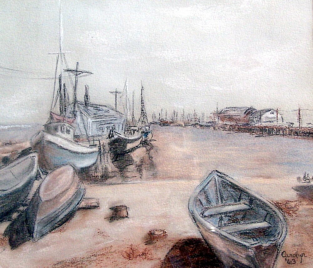 Old Cape Cod by Carolyn Bishop
