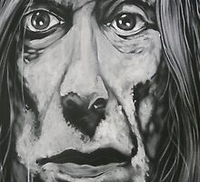 iggy  pop by alan  sloey