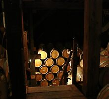 Wine Barrels by Cathy Jones