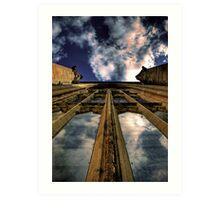 Heaven's Reflection Art Print
