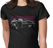 Mad Max Inspired Roadwarrior | Pink Girl Edition Womens Fitted T-Shirt