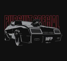 Mad Max Inspired Pursuit Special | Grey - Red by GTOclothing