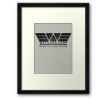 Weyland Corporation Framed Print