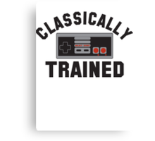 Gamer Nintendo Classically Trained Joystick Canvas Print