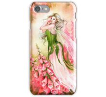 Foxglove Garden iPhone Case/Skin