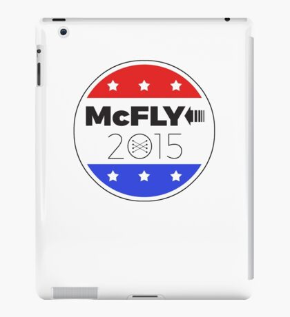 Vote Marty!  Save the Clock Tower! iPad Case/Skin