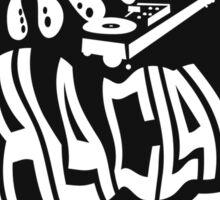 Squid DJ Sticker