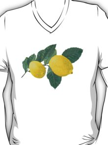 Two lemons on a branch with leaves. T-Shirt