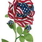 .♥➷♥•* Stars & Stripes Rose For 9-11 In Rememberance.♥➷♥•*¨ by ✿✿ Bonita ✿✿ ђєℓℓσ