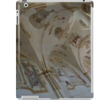 Ravages of Time - the Faded Beauty of an Elegant Church on Capri Island  iPad Case/Skin