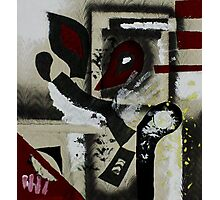 Blood and Bone #1 (Mixed Material Assemblage)- Photographic Print