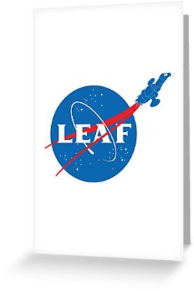 LEAF by geekchic  tees