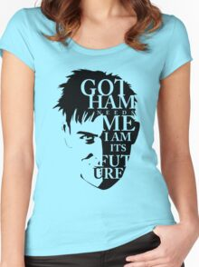 The Penguin - Quote (Version 2)   Women's Fitted Scoop T-Shirt