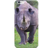 Black Rhino Bull - Powerful Me iPhone Case/Skin