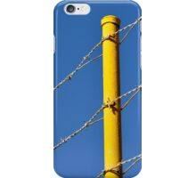 Yellow on Blue iPhone Case/Skin