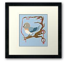 Twenty Birds with One Stone Framed Print