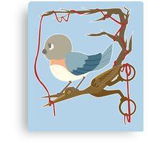 Twenty Birds with One Stone Canvas Print