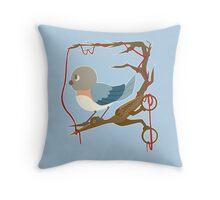 Twenty Birds with One Stone Throw Pillow