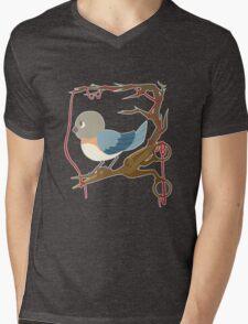 Twenty Birds with One Stone Mens V-Neck T-Shirt