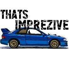That's Imprezive! Subaru Impreza WRX STi 22B by fadouli