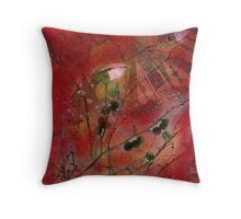 Autumn Secrets Collaboration With Leah Highland Throw Pillow