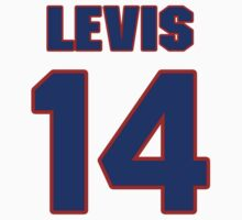 National baseball player Jesse Levis jersey 14 by imsport