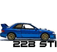 Subaru Impreza WRX 22B Sti by fadouli