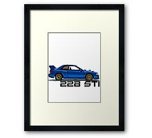 Subaru Impreza WRX 22B Sti Framed Print