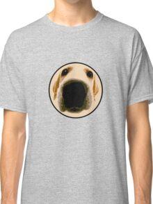 GOLDEN RETRIEVER  PUPPY PAINT PORTRAIT Classic T-Shirt