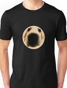 GOLDEN RETRIEVER  PUPPY PAINT PORTRAIT Unisex T-Shirt