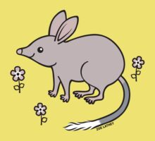 Pretty Bilby with Flowers by zoel