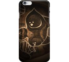 Biscuits the raccoon and all his treasure. iPhone Case/Skin
