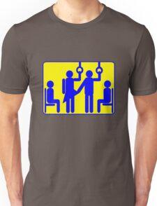 BUS PERVERT CHIKAN FROTTEURISM Unisex T-Shirt