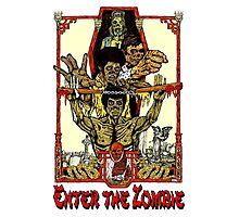 Enter the Zombie Photographic Print