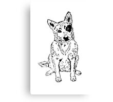Dawg Canvas Print