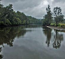Silky River by Warren. A. Williams
