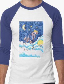 Fallen Angel Men's Baseball ¾ T-Shirt
