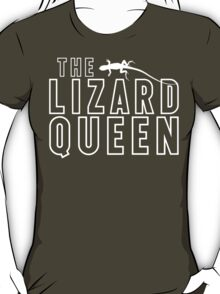 The Lizard Queen T Shirt For Reptile Lovers T-Shirt