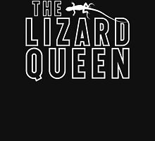 The Lizard Queen T Shirt For Reptile Lovers Womens Fitted T-Shirt