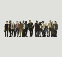 The Walking Dead Cast by mashuma3130