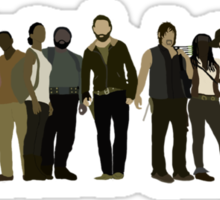 The Walking Dead Cast Sticker