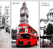 London Trilogy by ©The Creative  Minds
