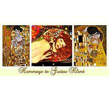 Hommage to Gustav Klimt Photographic Print