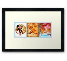 Alphonse Mucha Museum Impressions Framed Print