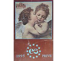 Ibiza 1995 es paradis vintage clubbing t-shirt Photographic Print