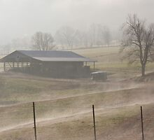 the foggy hills of home by Christopher  Ewing