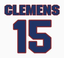 National baseball player Chet Clemens jersey 15 by imsport
